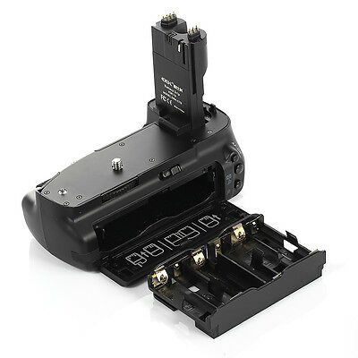 Multi Vertical Battery Grip Pack For Canon EOS 7D BG-E7 Camera with AA Holder