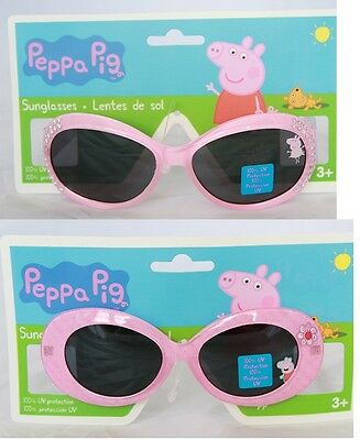Peppa Pig Little Girls Sunglasses 100% UV Protection Pink Kids Children Age 3+