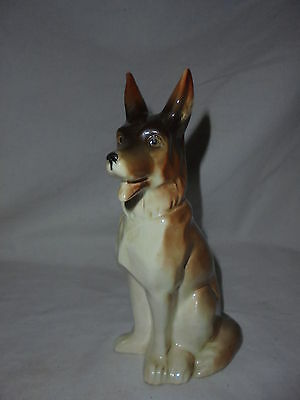 Vintage German Shepherd Dog figurine