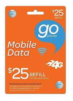 AT&T Go Phone $25 Refill
