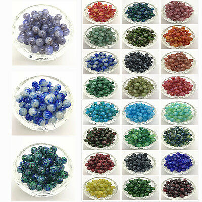 40 color 4mm 6mm 8mm 10mm Round Pearl Loose Beads Glass Jewelry Making Wholesale