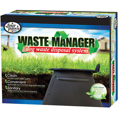 Four Paws Toilet Waste manager for dog poo disposal system four paws