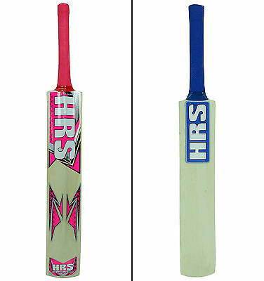 Kashmir Willow Full Size Wooden Cricket Sports Bat With Carry Case