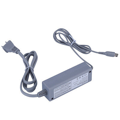 AU Home Wall Charger Adapter Power Supply for Nintendo Wii U Gamepad Grey ID