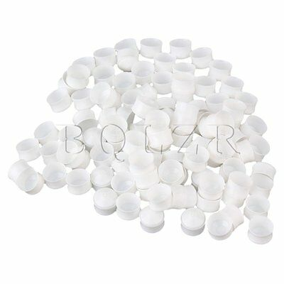 100x Plastic Plugger Tip Piston for USA Type 5CC Dispensing Industrial Syringe