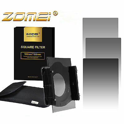 ZOMEI 150x100mm Square Filter ND2/4/8 Neutral Density Graduated Gray for Cokin Z