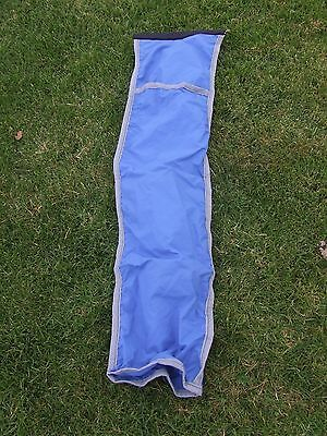 Ecotak Microfibre Tail Bag - Cob Blue with Grey trim  Ecotak