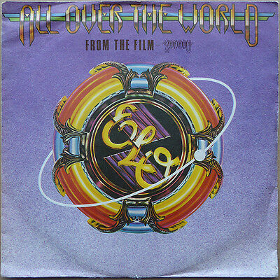 """7"""" Electric Light Orchestra - All Over The World - Holland 1980 - VG+(+) to VG++"""