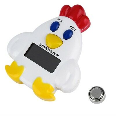 AU Chicken Home Kitchen 99 Minutes 59 Cooking Mechanical Timer Alarm Bell ID