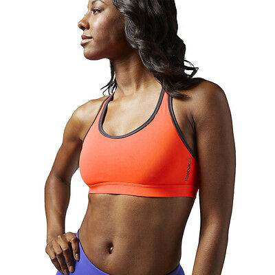 Damen Sport BH Reebok Hero Racer Bra SpeedWick Technology