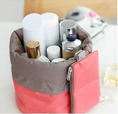 Portable Skincare Lotion Makeup Cosmetic Travel Storage Bag Jewelry Organizer