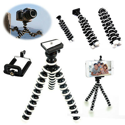 Octopus Flexible Tripod Stand for GoPro Camera SLR DV iPhone 6 7 Samsung Phone
