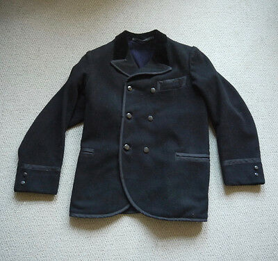 Rare and Beautiful Vintage 19th Century Dutch Melton Wool Workwear Jacket