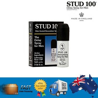 STUD 100 Premature Ejaculation Delay Spray Peineili Male Enhancer Mens