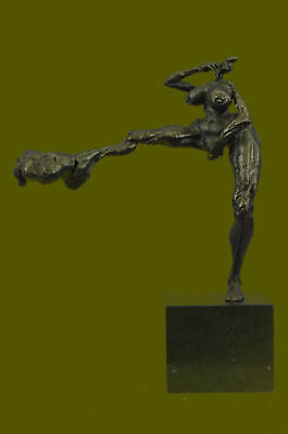 Bronze Masterpiece Museum Quality Limited Edition Female With Large Behind Decor