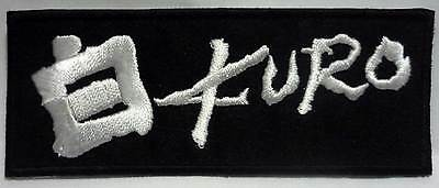 KURO embroided patch Gauze Zouo The Comes GISM Death Side Sistematic Death