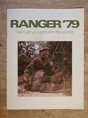 1979 Ranger Camo Clothing Company Catalog Vintage Hunting Fishing Gear Coat Pant