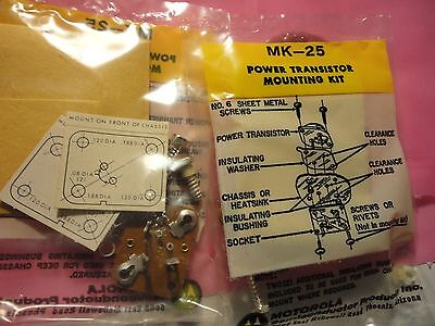 10Pcs Motorola To-66 Mk-25 Power Transistor Mounting Kit