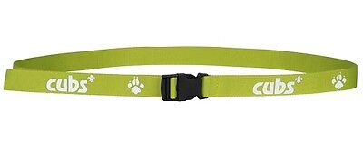 Cub Belt With Logo And Pawprint Official Cub Uniform New