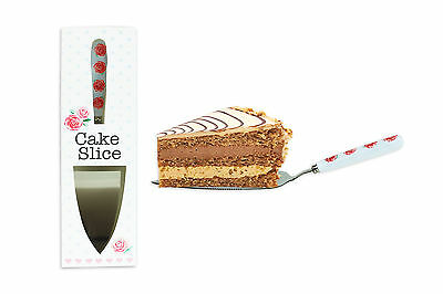 Afternnon Tea Party Wedding Cake Slice Stainless Steel With Ceramic Handle