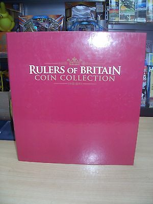 Rulers of Britain Coin Collection Partwork Binder