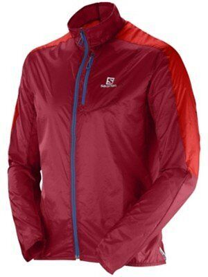 Windbreaker Men Salomon Fast Wing Windbreaker