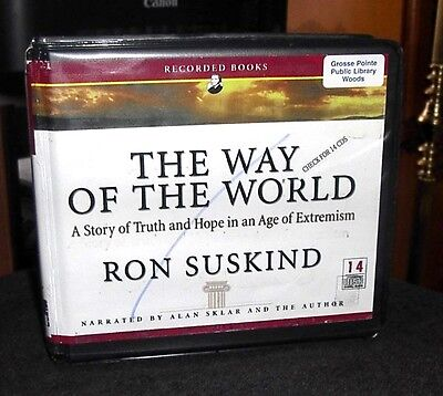 The Way of the World Story of Truth & Hope by Ron Suskind Unabridged Audio CDs