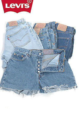 Levis Denim Shorts Grade A Vintage High Waisted 2 4 6 8 10 12 14