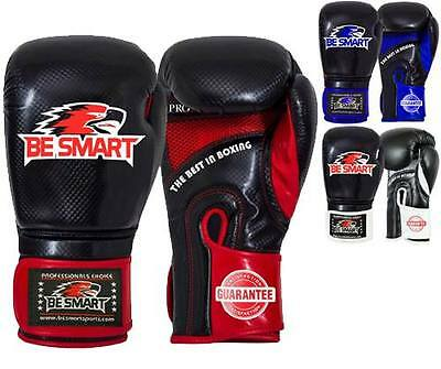 Maya Leather Boxing Gloves MMA GEL Punch Bag Muay Thai Kick Boxing, Train