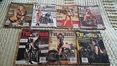 The Horse Backstreet Choppers magazine 7 issues 2014 Apr May Jun/July Sep Oct No