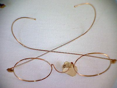 Antique 10K Gold EyeGlasses OLD STORE STOCK nwt 4.8 grams ***RARE***