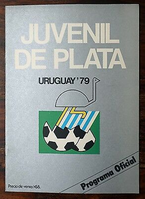 South America Youth Championship 1979 programme
