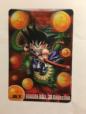 Dragon Ball Morinaga Wafer Card 167 3D