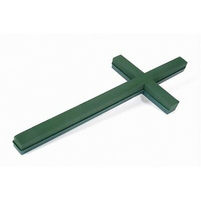 Plastic Backed Oasis Floral Foam Cross (3Ft) 90Cm Floral Funeral Sku 2161