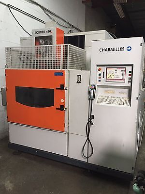 Cnc Wire End Machine Charmilles Extended Z Submerged Wire Threader