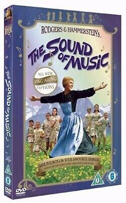The Sound of Music Sing Along Edition DVD Julie Andrews UK Release New Sealed R2