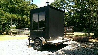 Bbq Pit On Trailer