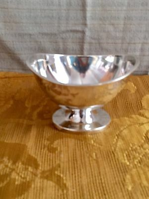 Vintage Mexican Sterling Silver - Sanborn's Footed Gravy Sauce Dish Or Bowl