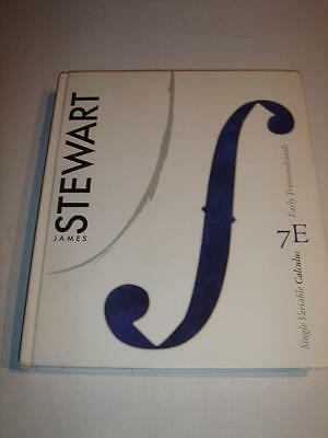 SINGLE VARIABLE CALCULUS 7E Early Transcendentals by James Stewart 7th Ed. 2011