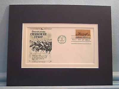 Oklahoma Land Rush and The Opening of the Cherokee Strip & First Day Cover