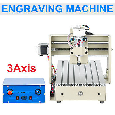 MACH3 3AXIS CNC Router Engraver/Engraving Drilling and Milling Machine CARVING 5