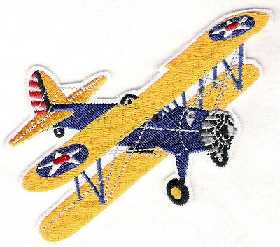 STEARMAN  Airplane Aircraft Aviation Collectable Military Patch Army Detailed