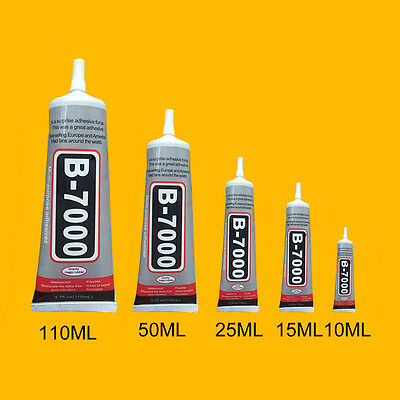 B-7000 Glue Industrial Adhesive for Phone Frame Bumper Jewelry 25/50/110 ML