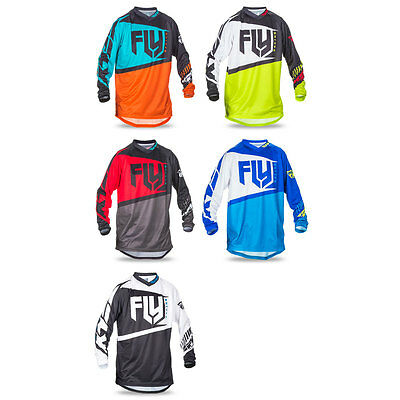 Fly Racing Youth F-16 Jersey Offroad Motocross Dirt Bike - Pick Size & Color
