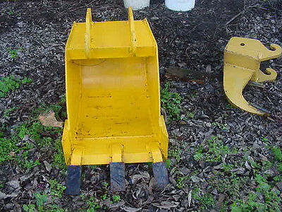 Terra Mite 16 inch heavy duty backhoe bucket