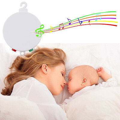 Baby Crib Music Musical Mobile Box Kid Bed Hang Bell Toy Gift Player 12 Tunes