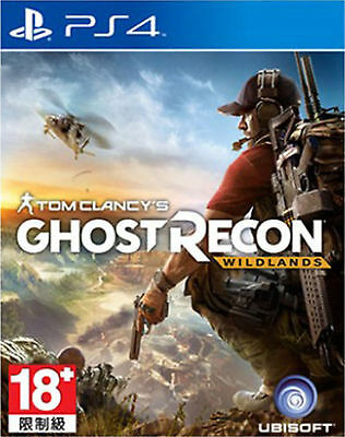 Tom Clancy's Ghost Recon:Wildlands HK Chinese/English Subtitle PS4 NEW