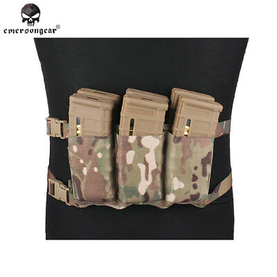 Six Pack Mag Pouch 6 Magazine Bag EMERSONGEAR Army 1000D Nylon Multicam EM6337C