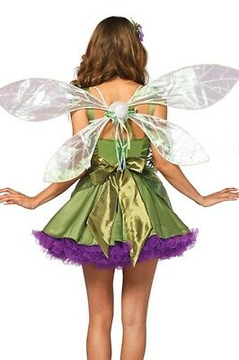Iridescent Pixie Wings 2069 Leg Avenue White One Size Fits All