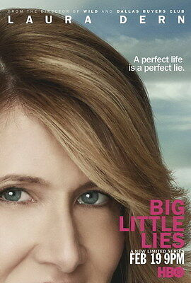 "002 BIG LITTLE LIES - USA Comedy TV Show 14""x20"" Poster"